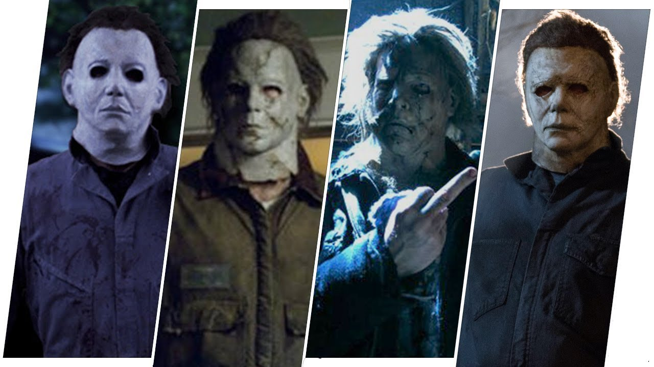 Michael Myers Evolution In Halloween Movies 2018 Youtube