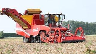 GRIMME TECTRON 415   self-propelled Potato Harvester