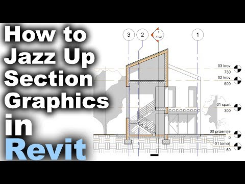How to Jazz Up Section Graphics in Revit Tutorial