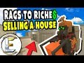 Selling a House | Unturned Roleplay Rags to Riches Reboot #13 - Crazy Profits (RP)