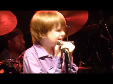 Caladonia by 10 year old Joshua King  @ Riverfront Blues Festival August 5 2011