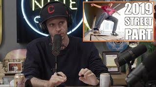 Jonny Giger Street Part / YouTube Vs Traditional Skate Parts