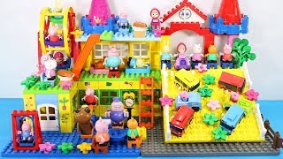 Peppa Pig Building House Toys For Kids - Lego Duplo House Creations Toys #8