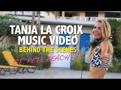 DJ Tanja La Croix Music Video - Behind the Scenes in St. Pete Beach, FL