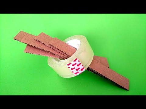 Karton İle Yapabileceğiniz 3 Harika Fikir - 3 Amazing ideas from Cardboard at Home