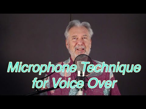 Secret Microphone Technique For Voice Over