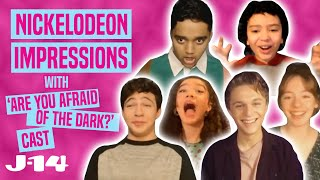 Are You Afraid of the Dark: Curse of the Shadows Cast Does Nickelodeon Impressions