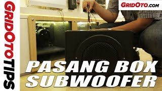 Tips Pasang Box Subwoofer Di Mobil | GridOto Tips