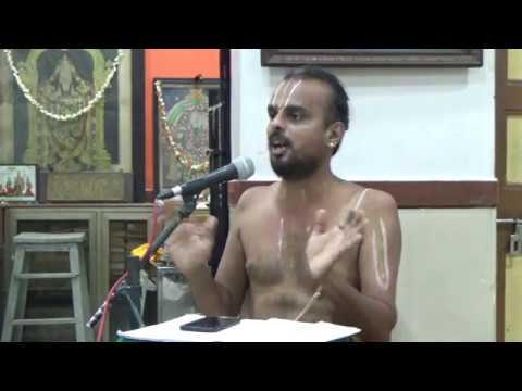 "Part (1) Upanyasam on "" Bhagawad Ramanujarum Bhagawad Gunankalum """