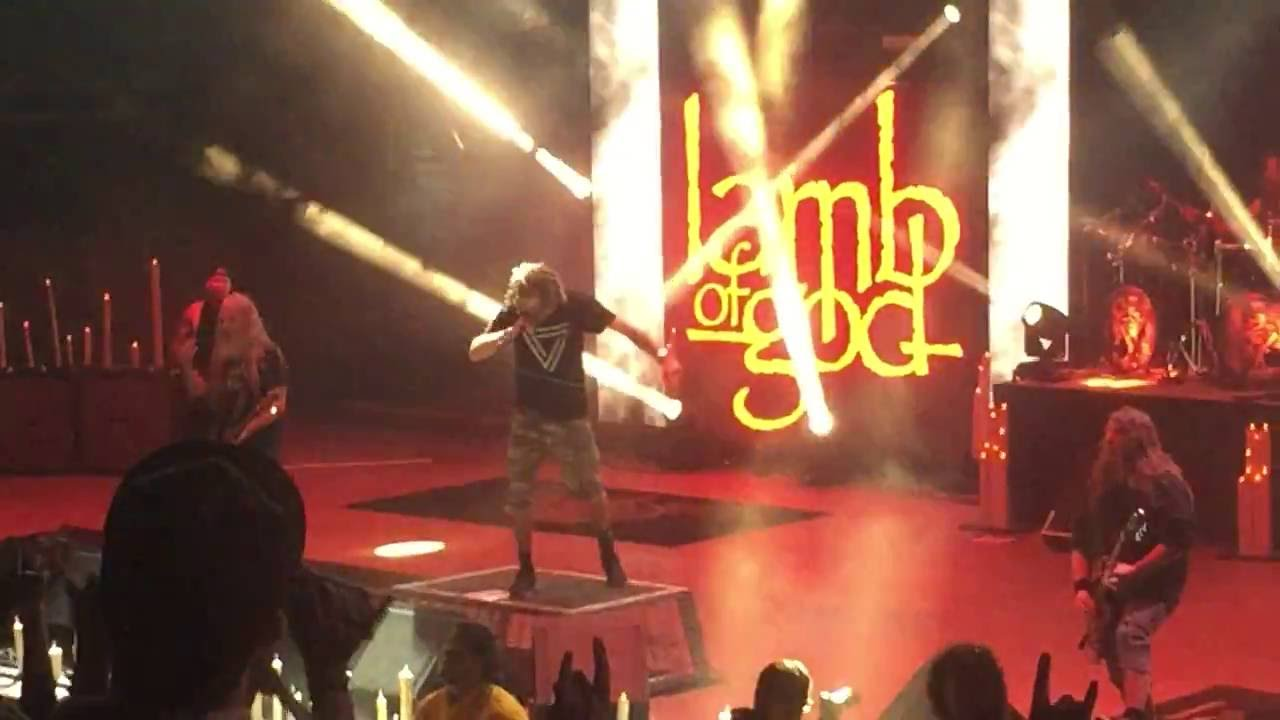 Lamb of God Redneck Live at Red Rocks May 2016 - YouTube for Lamb Of God Live 2016  565ane