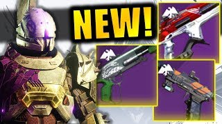 ALL NEW Ritual (Pinnacle) Weapons! - Which one should you get?   Season of Dawn