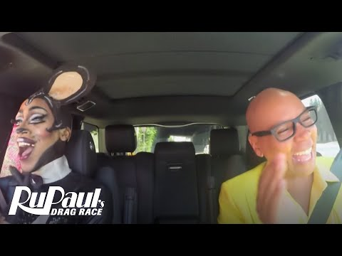 Drag Queen Carpool: Nina Bo'Nina Brown | RuPaul's Drag Race Season 9 | Now on VH1!