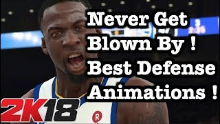 NBA 2K18 Best Animations for Defense PERFECT On Ball Defense ! Best 2K18 Defensive Settings Tips #33