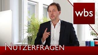 Nutzerfragen: Sicherheitslücke, Streaming und Verspätungen | Rechtsanwalt Christian Solmecke