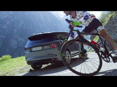 Cyclist Vs Race Car Driver – Motor Trend Presents: DRIVEN France