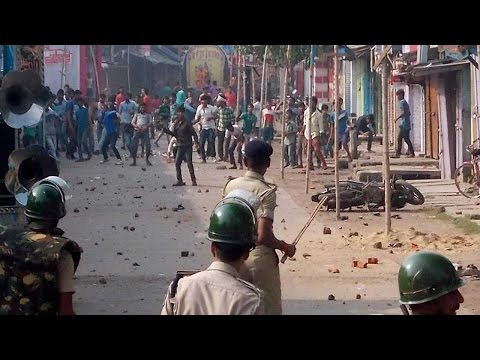 Communal clashes in Jamshedpur, Curfew imposed
