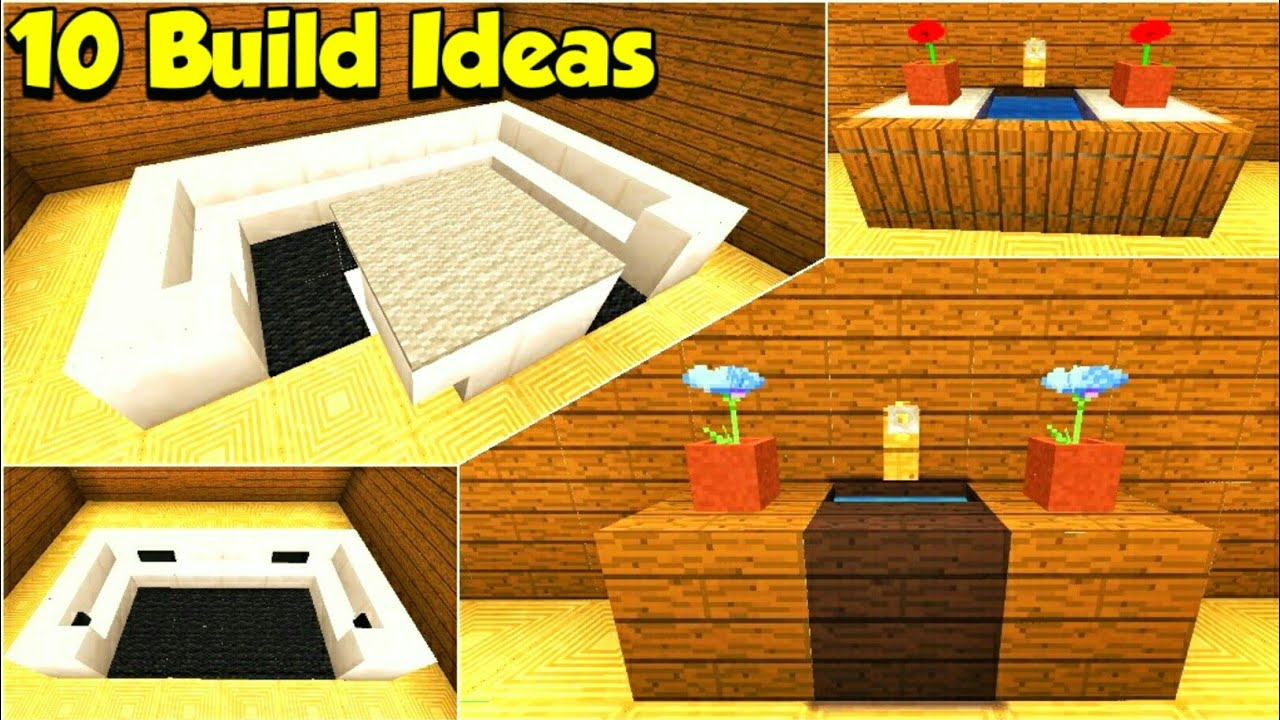 Minecraft: Top 10 Design Hacks And Build Ideas - YouTube