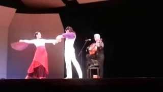 VCU Flamenco Festival V: Guitarist Torcuato Zamora and dancers #1