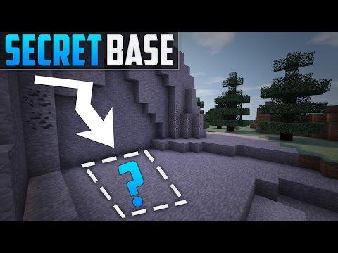 Minecraft: How To Build A Secret Base Tutorial (#3)