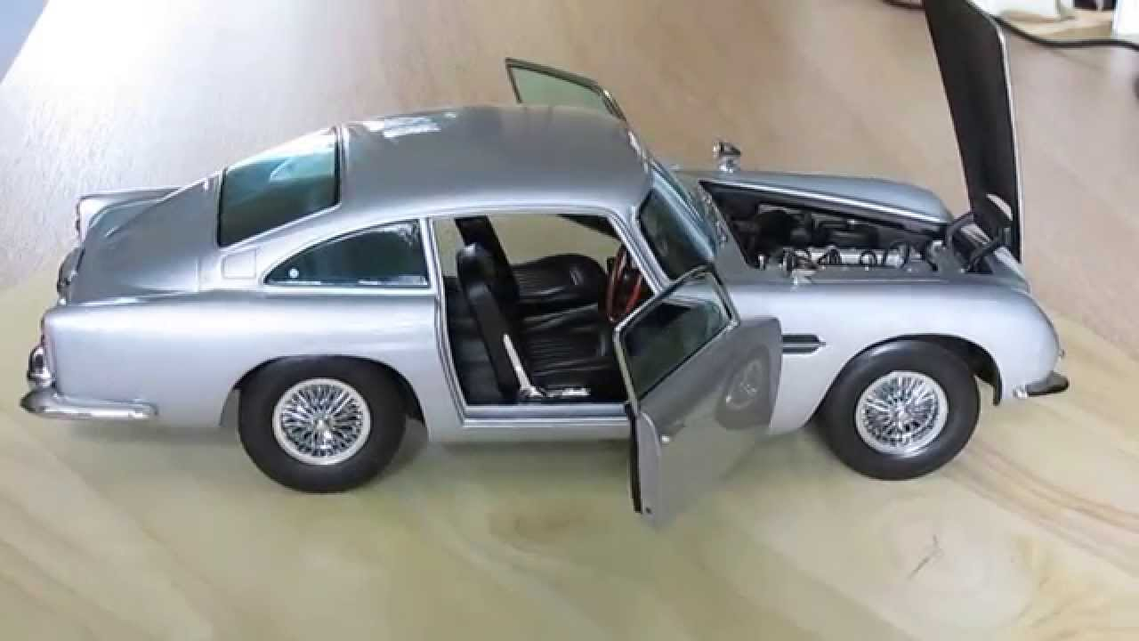 aston martin db5 1:18sunstar - youtube