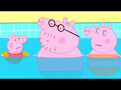 Peppa Pig Official Channel | Swimming with Peppa and George