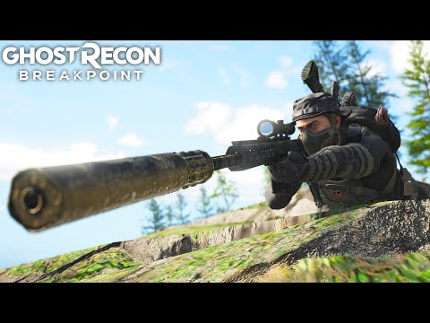 Ghost Recon Breakpoint SPEC OPS STEALTH SNIPER! Ghost Recon Breakpoint Free Roam