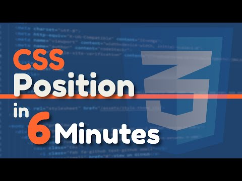 CSS Position Explained In 6 Minutes thumbnail