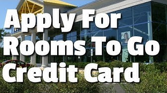 Apply For Rooms To Go Credit Card - Perfect Way For Furniture Financing Options