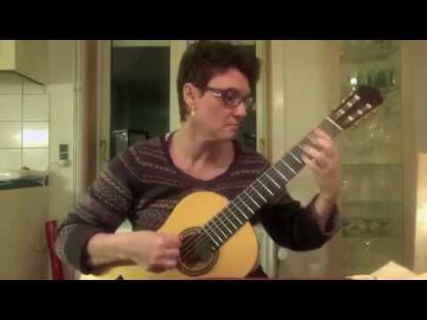 Francisco Tárrega: Estudio sobre un Scherzo de Tomás Damas