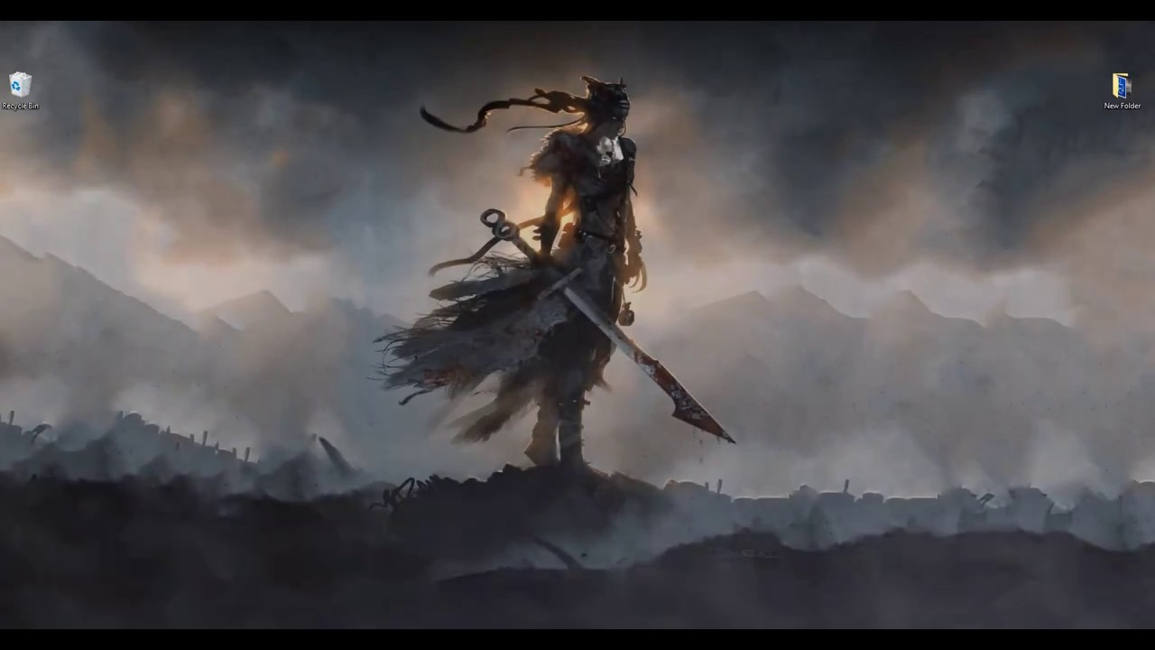 Anime 4k Wallpaper: Wallpaper Engine Hellblade : Senua's Sacrifice Animated