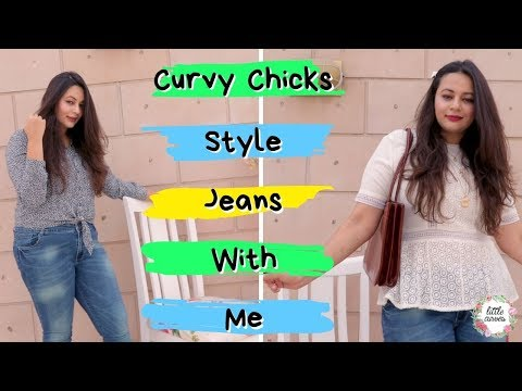 Easy Jeans Styling Ideas For Curvy Chicks || 5 Ways To Style Jeans ||. http://bit.ly/2zwnQ1x