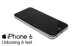 [60FPS] Apple iPhone 6 ► Unboxing & test ► synecek11