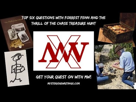 Top Six Questions With Forrest Fenn And The Thrill Of The Chase Treasure Hunt
