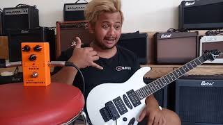 Jual Gitar Ibanez S series Custom Dan NUX Classis DISTORTION kirim ke SURABAYA by #dennystunt