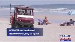 Atlantic Beach, FL Teens Run Over on Beach - Action News Covers