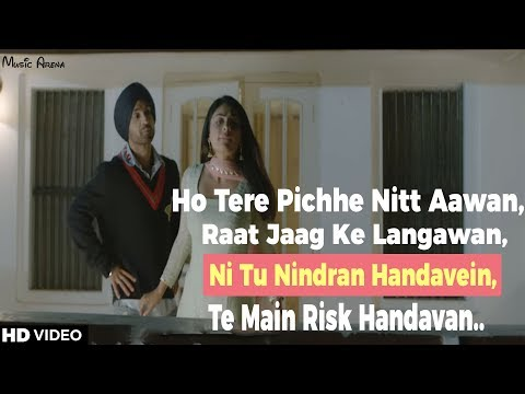 Raat Di Gedi - Diljit Dosanjh Video Song Lyrics W/ Meaning Ft. Neeru Bajwa | Jatinder Shah | Punjabi