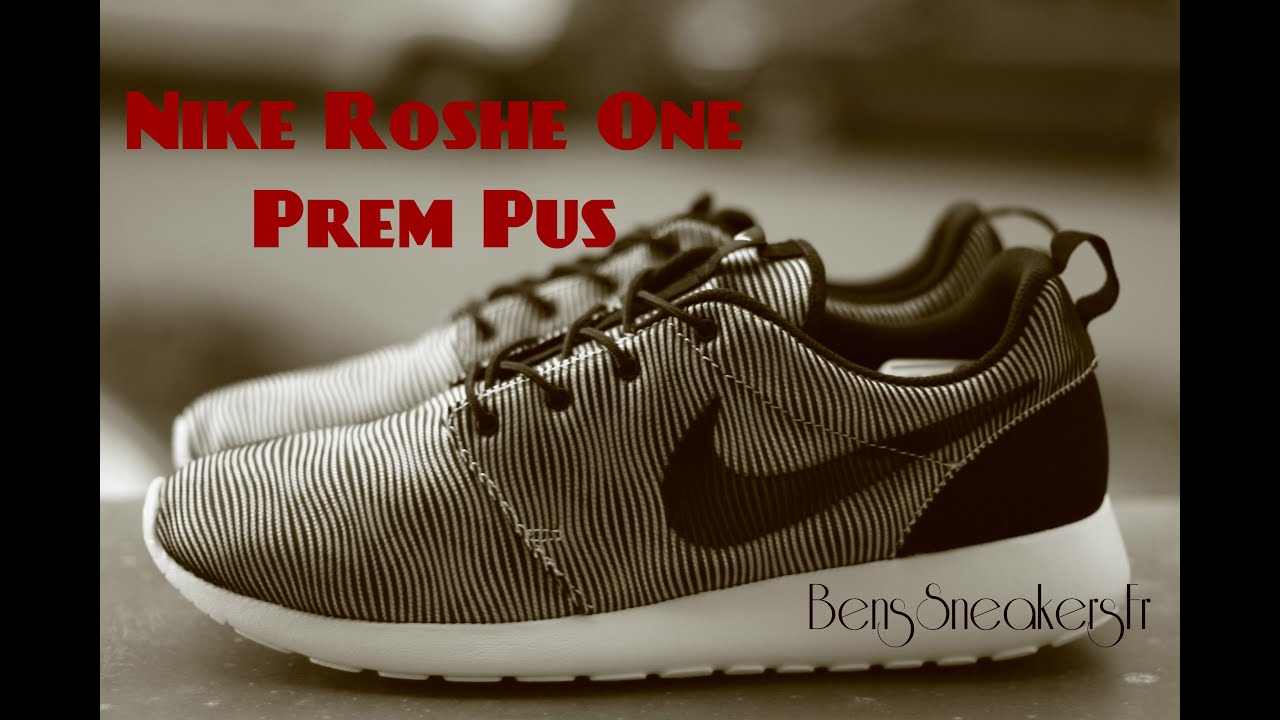 6d86e09389e6d BensSneakersFr  NIKE Roshe One Prem Plus White Black (807611-100 ...