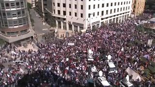 أخبار عربية - عودة الإحتجاجات في #لبنان بعد إقرار البرلمان ضرائب جديدة