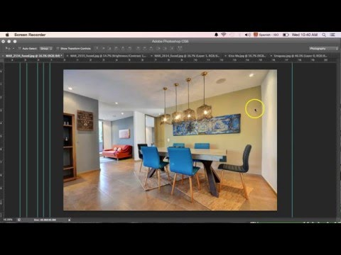 How to straighten bent lines in Photoshop CS6 - Interior Photoraphy Tips