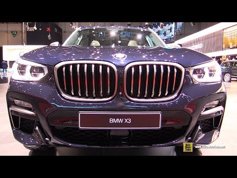2019 BMW X3 M40i xDrive - Exterior and Interior Walkaround - 2019 Geneva Motor Show