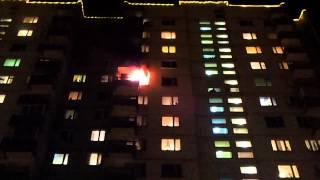 Пожар 20 января 2014