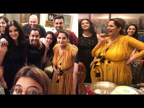 Inside Video of Sania Mirza Baby Shower