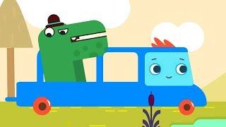 Мультфильм про машинки -  Грузовичок Пик - Зайка-астронавт+Важный крокодил  - для самых маленьких