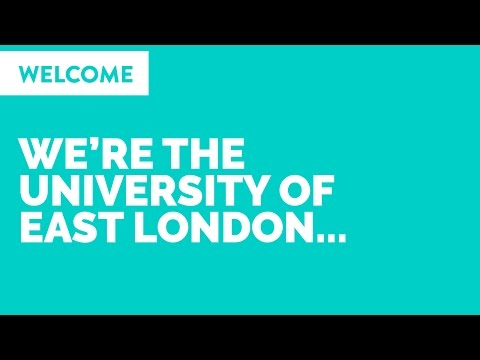 We're the University of East London