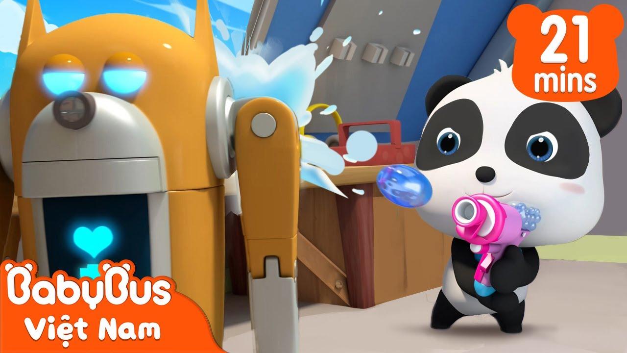 Kiki và Chú chó nguời máy   Kiiki và những người bạn   Hoạt hình thiếu nhi vui nhộn   BabyBus