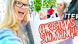 last minute christmas shopping vlogmas day 22