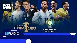 FOX Sports Radio: Comparativa de asistencia entre Copa Oro y Copa América