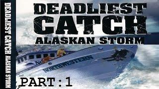 Deadliest Catch: Alaskan Storm - Tutorial Gameplay Part 1 [PC] 720p [HD]
