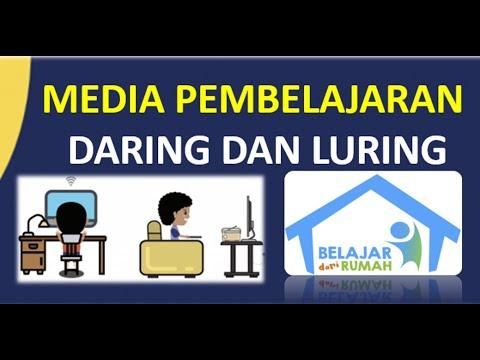 Media Pembelajaran Daring Dan Luring Belajar Dari Rumah Youtube
