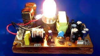 New electricity inventions Free energy generator 220V - Easy Diy at School